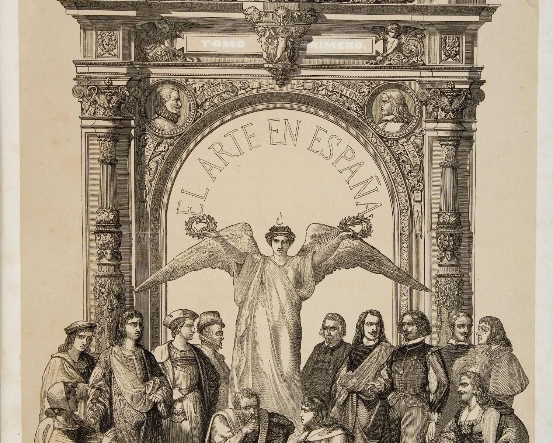 El Arte en España: revista quincenal de las artes del dibujo. 1862. Madrid, 1862-1870