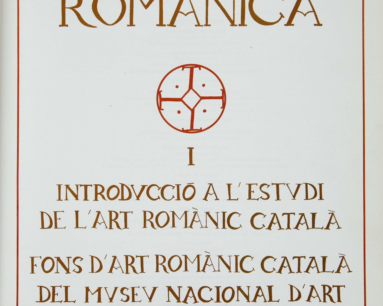 Introducció a l'estudi de l'art romànic català: fons d'art romànic català del Museu Nacional d'Art de Catalunya. Barcelona: Enciclopèdia Catalana, 1994 (Catalunya romànica;...
