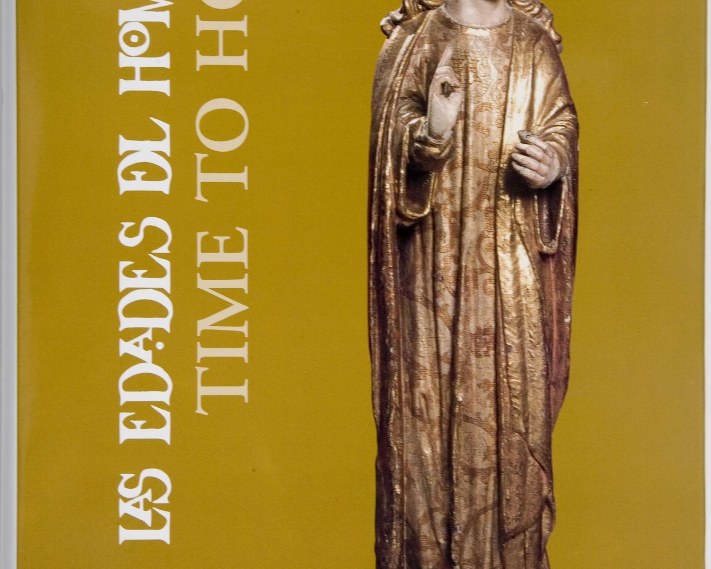 """Time to hope: Cathedral St.John the Divine = tiempo para la esperanza: Catedral San Juan El Divino: las edades del hombre. New York: Fundacion """"Las Edades del Hombre"""", 2002"""
