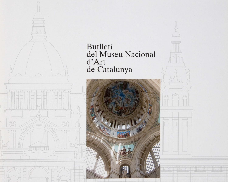 Butlletí del Museu Nacional d'Art de Catalunya. 2005, vol. 8. Barcelona, 1993