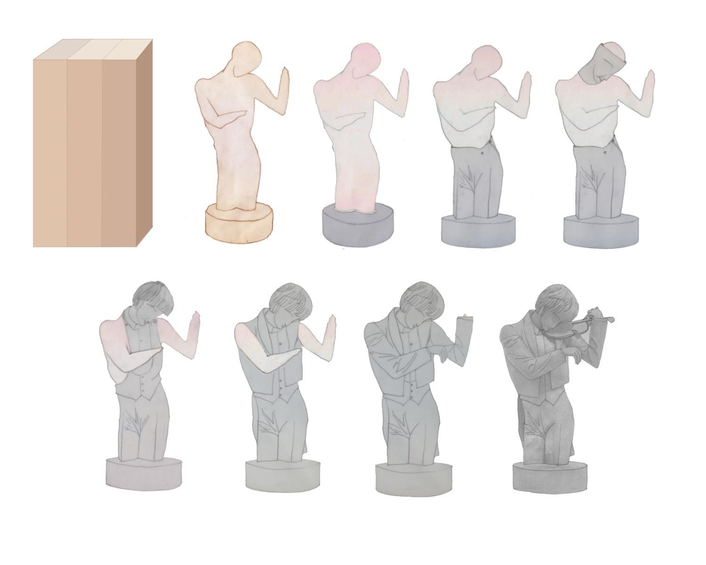 Seqüència del procés d'execució, El Violinista