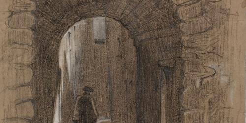 Josep Lluís Pellicer - Carrer de Cardona - 1864