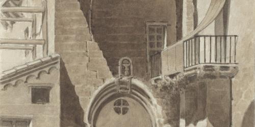 Antoni Rigalt - Street in Cardona - Cardona, 1910