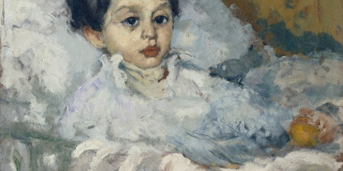 Ricard Canals - Study for 'Sick Child' - Circa 1903