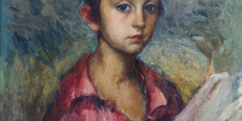 Ricard Canals - Portrait of Ricard, Son of the Artist - Circa 1915