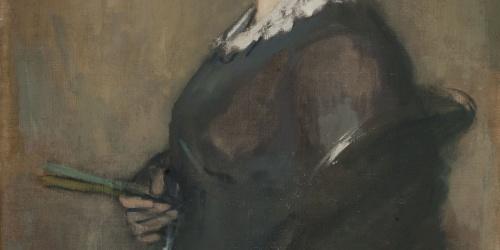 Ricard Canals - Portrait of Senyora Canals - Circa 1913