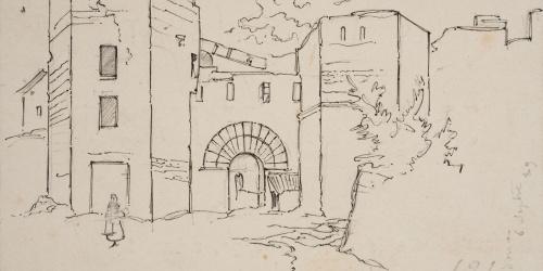 Josep Lluís Pellicer - Castell de Cardona - 1889