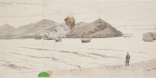 Josep Lluís Pellicer - San Sebastián. El saludo de la marina - Cap a 1872-1876