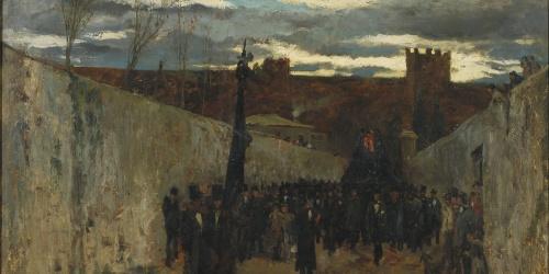 Ramon Tusquets - Enterrament de Fortuny - 1874