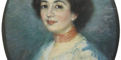 Ricard Canals - Retrat de Rosa Amouroux - Cap a 1903