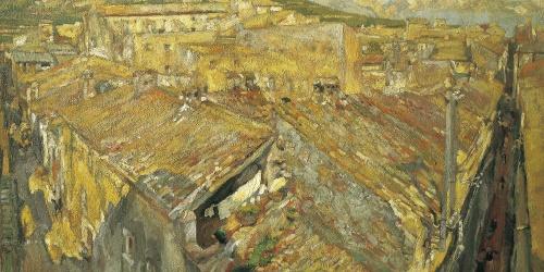 Francesc Gimeno - Un poble empordanès - Torroella de Montgrí, cap a 1918