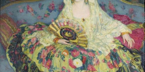 Joan Cardona - Woman Dressed Up - Circa 1918