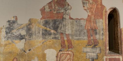 Mestre de Boí - Sants i joglars de Sant Joan de Boí - Cap a 1100