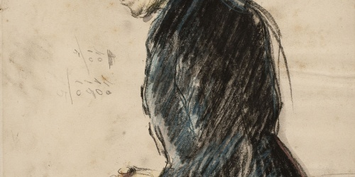 Ricard Canals - Figura femenina - Cap a 1896-1900
