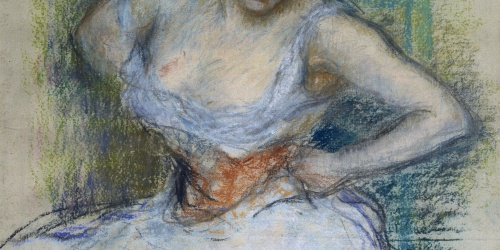 Ricard Canals - Woman sitting - Circa 1897-1899