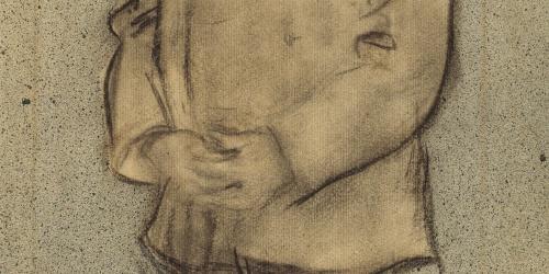 Ramon Casas - Retrat de Josep Parera - Cap a 1897-1899