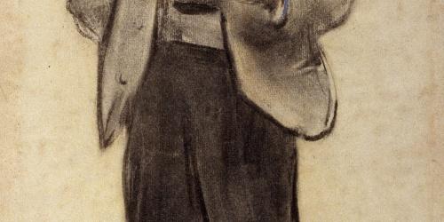 Ramon Casas - Retrat de Manolo Hugué - Cap a 1897-1899