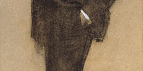 Ramon Casas - Retrato de Josep Masriera - Hacia 1897-1899