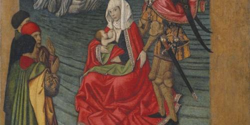 Jaume Huguet - Miracle del mont Saint-Michel - Cap a 1455-1460