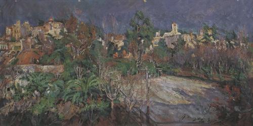 Francesc Gimeno - Tennis Courts in Sant Gervasi (Barcelona) - Circa 1898