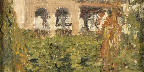 Nicolau Raurich - Casa amb jardí - Barcelona, 1922