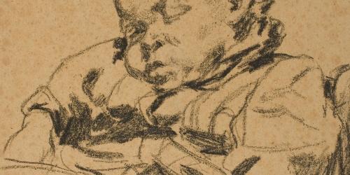 Francesc Gimeno - Niño durmiendo - Hacia 1899-1900