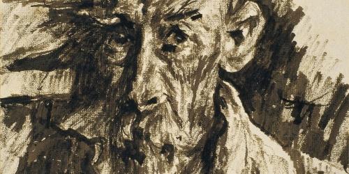 Francesc Gimeno - Autoretrat - Cap a 1920-1925