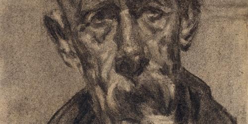 Francesc Gimeno - Autorretrato - Hacia 1918-1920