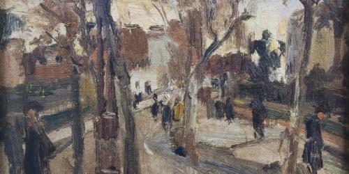 Francesc Gimeno - Autumnal Landscape - 1922