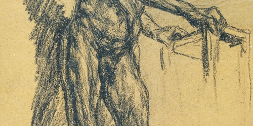 Francesc Gimeno - Desnudo masculino - Hacia 1900