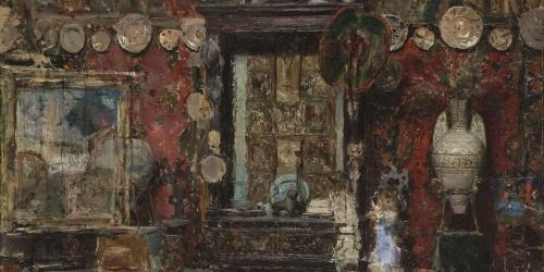 Ricardo de Madrazo - The Studio of Marià Fortuny in Rome - Rome, 1874