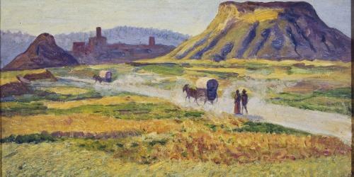 Darío de Regoyos - Carretera de Tona - 1912