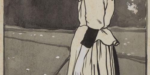 Joan Cardona - Peasant Girl - Circa 1902