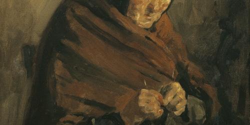 Francesc Gimeno - Portrait of the artist's mother - Barcelona, 1915