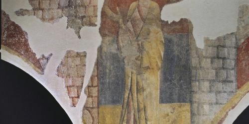 Mestre de Boí - Sant entre dues torres de Sant Joan de Boí - Cap a 1100