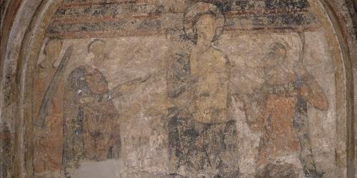 Anònim. Catalunya - Flagel·lació de Cardona - Cap a 1200