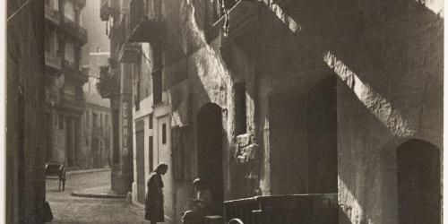 Otho Lloyd - Carrer del Triangle (Barcelona) - 1946