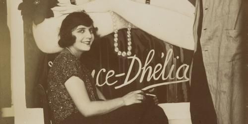 Emili Vilà  - France Dhélia and Emili Vilà - Circa 1925