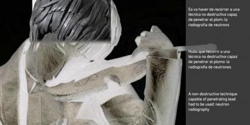 'El violinista' de Pablo Gargallo / 'The violinista' by Pablo Gargallo