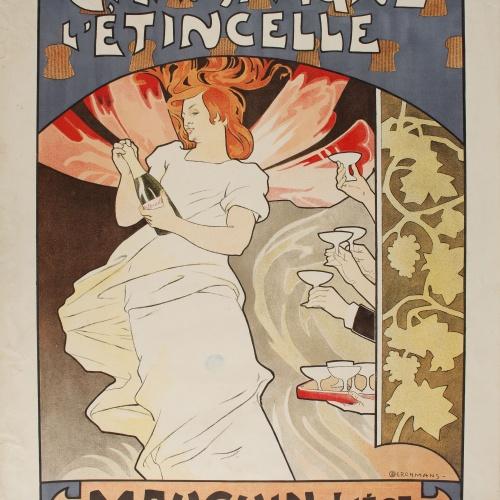 Émile Berchmans - Champagne L'Étincelle - Anterior a 1903