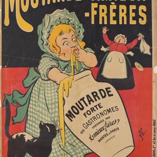 Eugène Ogé - Moutarde Amieux-Frères - Circa 1896