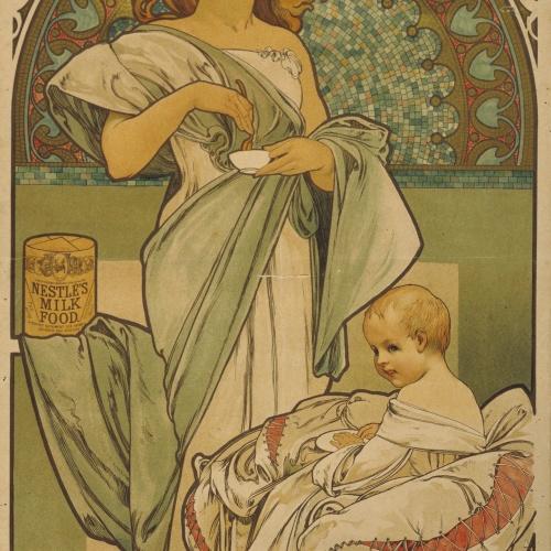 Alphonse-Marie Mucha - Nestlé's Food - 1897
