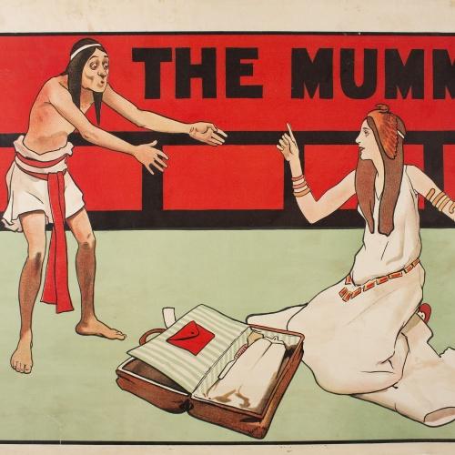 John Hassall - The Mummy - Cap a 1897-1901