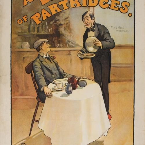 John Hassall - A Brace of Partridges. - 1898