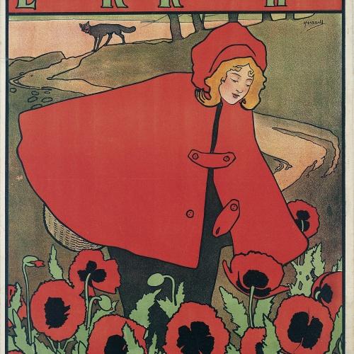 John Hassall - Little Red Riding Hood - 1898