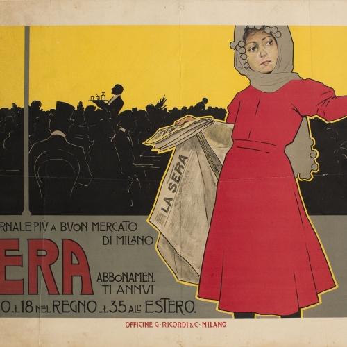 Leopoldo Metlicovitz - La Sera - 1892