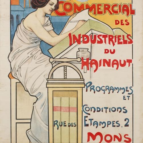 Émile Berchmans - Institut Comercial des Industriels du Hainaut - Anterior a 1903