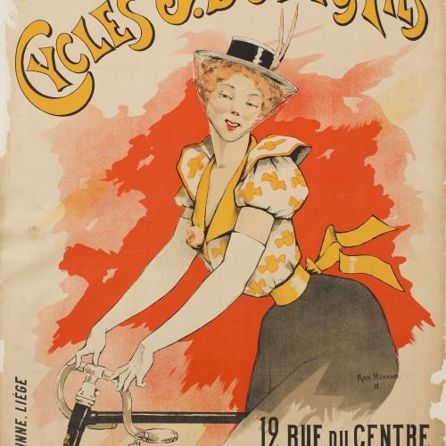 Armand Henrion - Cycles J. Bovy & Fils - 1898