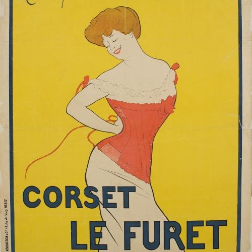 Leonetto Cappiello - Corset Le Furet - 1901