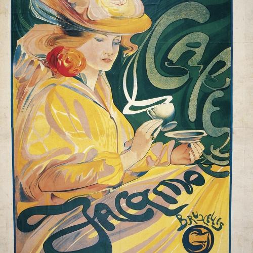 Fernand Toussaint - Café Jacqmotte - 1897
